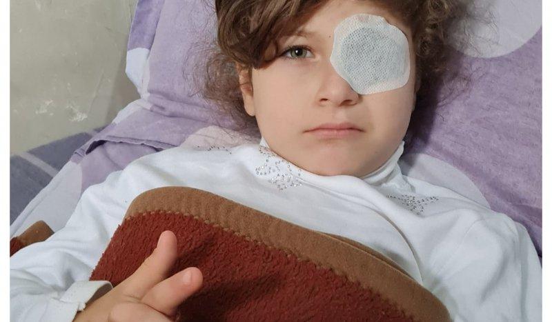 პატარა თამარს, რომელსაც თამაშისას ბავშვებმა ჯოხი თვალში მოარტყეს და მხედველობა დაკარგა, დახმარება სჭირდება